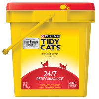 Purina Tidy Cats 24/7 Performance Clumping Cat Litter, 27-lb Pail