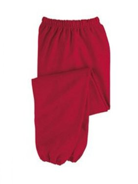 JERZEES SUPER SWEATS - Sweatpant with Pockets. 4850MP - X-Large - Red