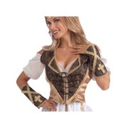 Medieval Madam Adult Costume Vest   Cuff Set 985106c1d