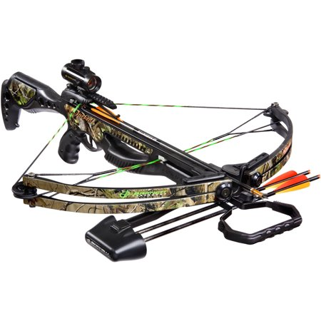 Hunting Package - Barnett Sports & Outdoors Jackal Hunting Crossbow Package, Camouflage
