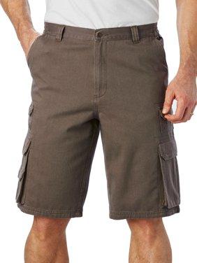 Boulder Creek Men's Big & Tall Ranger Side-elastic Cargo Shorts