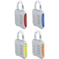Master Lock Padlock 653D Set Your Own Combination, 2in (51mm) Wide