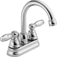 Peerless Hi-Arc Chrome Bathroom Faucet