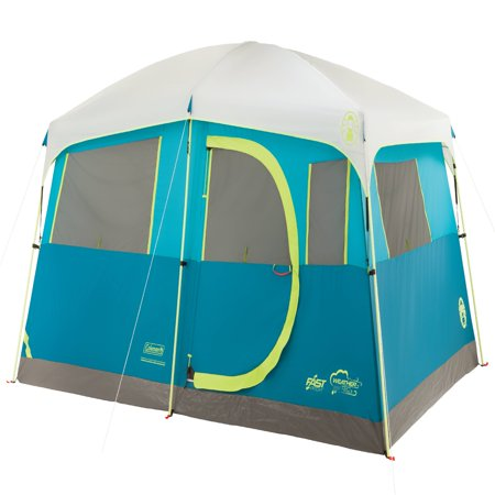 Backcountry Tent (Coleman Tenaya Lake Fast Pitch 8-Person Cabin Tent with Closet )