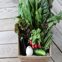 Farmbox Direct, Large Mixed Fruits and Veggies, Natural, 32 pc