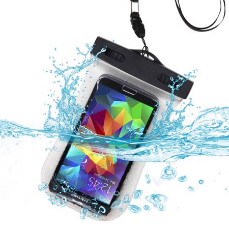 Premium Waterproof Sport Armband Case Bag for LG  E739 (myTouch), LS855 (Marquee), VS700 (Enlighten/ Gelato Q), P999 (G2X) (with Lanyard) (T-Clear) + MYNETDEALS Mini Touch Screen Stylus