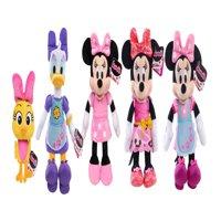 Disney minnie mouse beanbag plush assortment, styles may vary