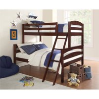 Better Homes & Gardens Leighton Twin-Over-Full Bunk Bed, Multiple Colors