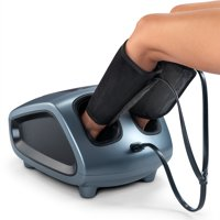Belmint Shiatsu Foot Massager with Air-Bag Massage Pressure and Heel Massage (3 Functions) Upgraded Version Foot Massagers to Massage your Feet and Ankles, Relieves Plantar Fasciitis, Pain & Tension