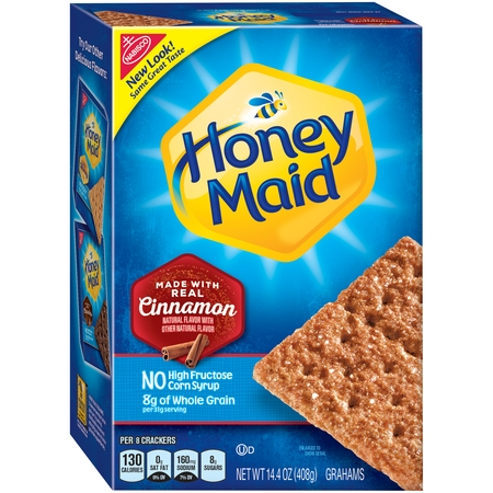Nabisco Honey Maid Cinnamon Grahams, 14.4 Oz.