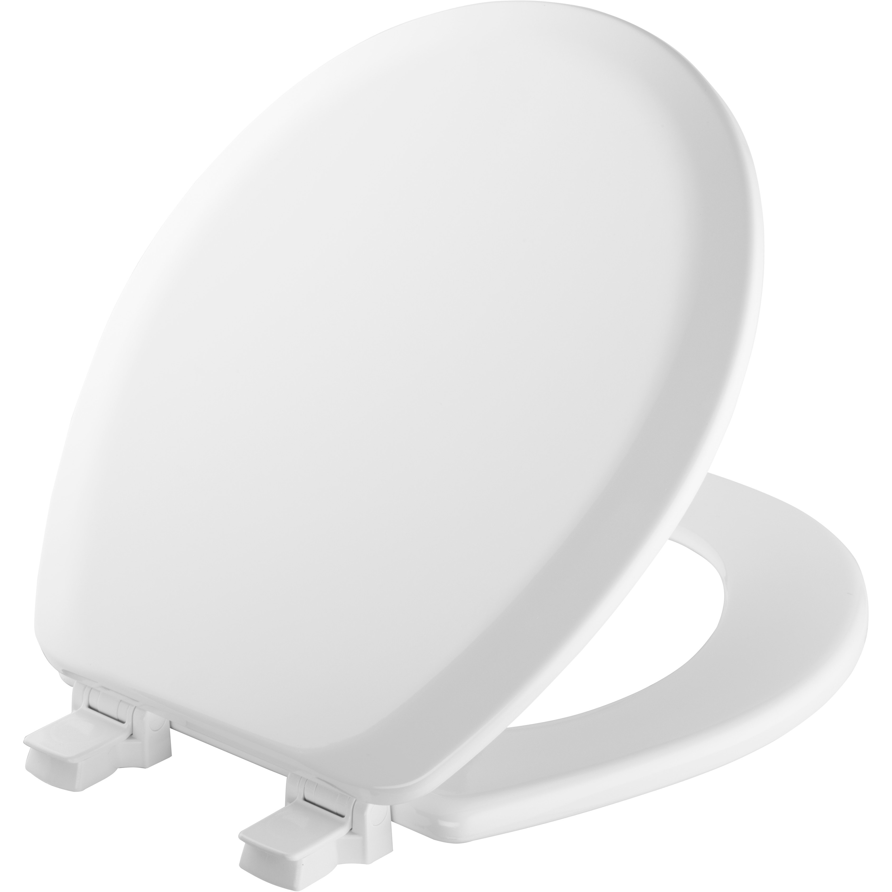 Wood Toilet Seat Walmart.Mayfair White Round Molded Wood Toilet Seat With Easy