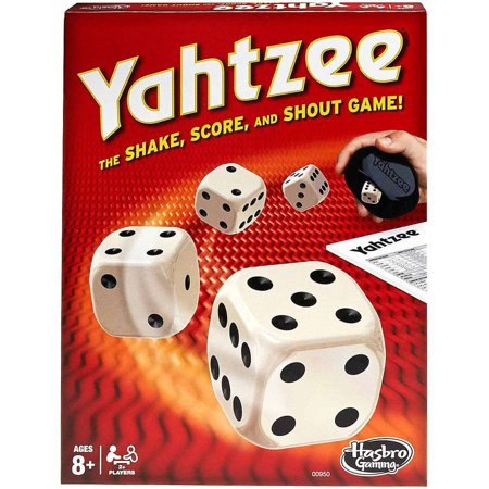 Classic Yahtzee Family Dice Game for Ages 8 and up