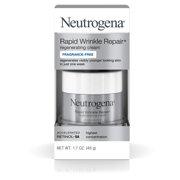 Neutrogena Rapid Wrinkle Repair Retinol Cream, Fragrance Free, 1.7 oz