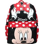 e5b1b866755 Backpack - Disney - Minnie Mouse - Face Dot Bow New 125592