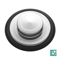 Sink Stopper, Stainless Steel Kitchen Sink Garbage Disposal Drain Stopper, Fits Kohler, Insinkerator, Waste King & Others By Essential Values