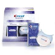 Crest 3D White Whitestrips with Light Teeth Whitening Kit 10 Treatments