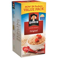 Quaker Instant Oatmeal, Original, Value Pack, 24 Packets