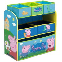 Peppa Pig Multi-Bin Toy Organizer by Delta Children