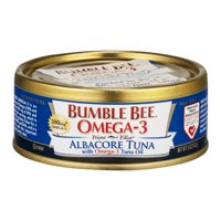 Bumble Bee Prime Fillet Solid White Albacore Tuna in Water, Omega-3, 5oz can
