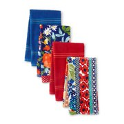 The Pioneer Woman Fiona Floral Kitchen Towels, 4 Piece