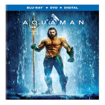 Aquaman (Blu-ray + DVD + Digital Copy)