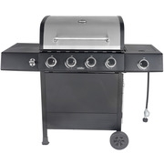 Best Gas Grills - RevoAce 4-Burner LP Gas Grill with Side Burner Review