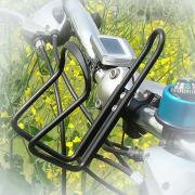 Jeobest 1PC Bicycle Bottle Holder - Bicycle Handlebar Bottle Cage - Aluminum Alloy Water Bottle Holder