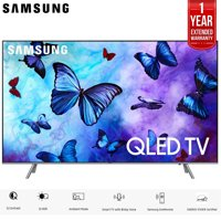 "Samsung 75"" Q6FN QLED Smart 4K UHD TV 2018 Model (QN75Q6FNAFXZA) with 1 Year Extended Warranty"