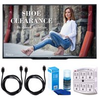 """Sharp PN-LE901 90"""" Class 1920X1080 Commercial LCD HDTV Display w/ Accessories Bundle Includes, 2x 6ft. HDMI Cable, SurgePro 6-Outlet Surge Adapter with Night Light & Screen Cleaner For LED TVs"""