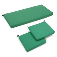 Blazing Needles Outdoor All Weather 3-Piece Patio Cushion Set