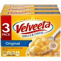 Kraft Velveeta Original Shells & Cheese Dinner 3 - 12 oz Boxes