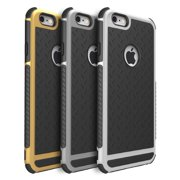 iPhone 6 6S Rubber Gold Case - Quirkio - Ultra Shockproof Hybrid Rubber TPU  Gel Case 79d05785d37aa