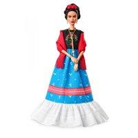 Barbie Inspiring Women Series Frida Kahlo Doll, Iconic Fringe Shawl