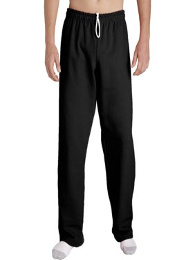 Mens Open Bottom Pocketed Jersey Pant