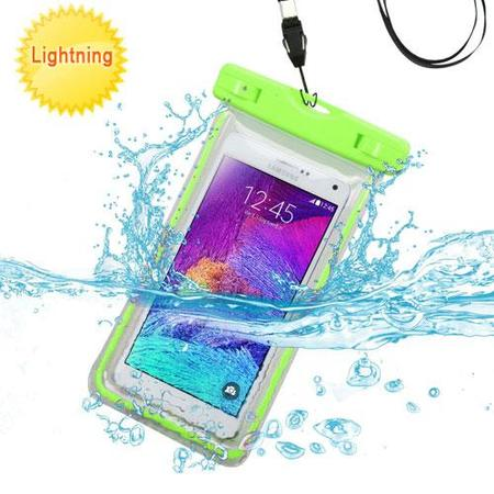 Premium Waterproof Sports Swimming Waterproof Water Resistant Lightning Carrying Case Bag Pouch for LG G4/ D725, LG G3 mini, LG D722, LG G3 Beat, LS885 (G3 Vigor), G3, VS450PP (Optimus Exceed 2) (with