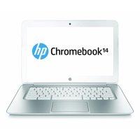 Refurbished HP 14-ak039wm Chromebook 14 Intel Celeron 1.83 GHz 4 GB RAM 16 GB HDD Snow White