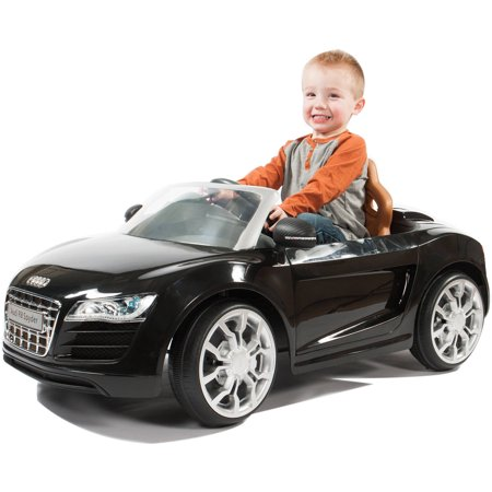 - Rollplay Audi R8 Spyder 6 Volt Battery Ride-On Vehicle