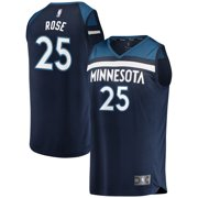 1fe6d89b9a5b Minnesota Timberwolves Derrick Rose Fanatics Branded Youth Fast Break  Player Jersey - Icon Edition - Navy
