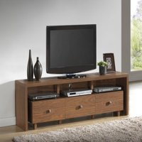 "Techni Mobili Palma TV Cabinet for TVs up to 75"", 3-Drawer Storage in Multiple Finishes"