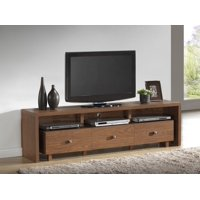 """Techni Mobili Palma TV Cabinet for TVs up to 75"""", 3-Drawer Storage in Multiple Finishes"""