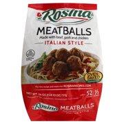 Rosina Italian Style Meatballs, 26 oz