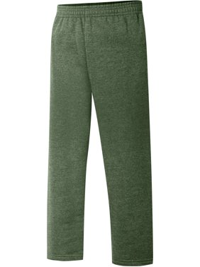 Boys' EcoSmart Open Leg Fleece Sweatpant with Pockets