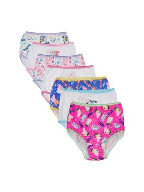 Peppa Pig Toddler Girls' Underwear, 7-Pack