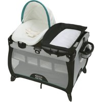 Graco Pack 'n Play Quick Connect Portable Napper Playard with Bassinet, Darcie