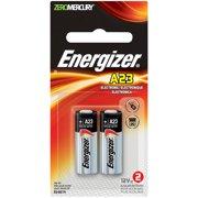 Energizer Keyless Entry 12 V Batteries, A23, 2-Pack