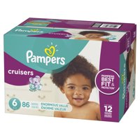 Pampers Cruisers Diapers (Choose Your Size and Count)