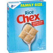 (2 Pack) Rice Chex Cereal, Gluten-Free Cereal, 18 oz