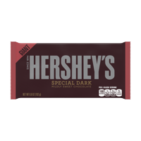 Hershey's Giant Special Dark Chocolate Candy Bar, 6.8 Oz.