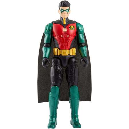 DC Comics Batman Missions 12-inch True-Moves Robin Action (12 Inch Figure Stand)