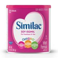 Similiac Soy Isomil Infant Formula with Iron, Powder, 12.4 oz